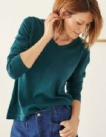 Teal Sweater by Thought - Hildur - WWT4370